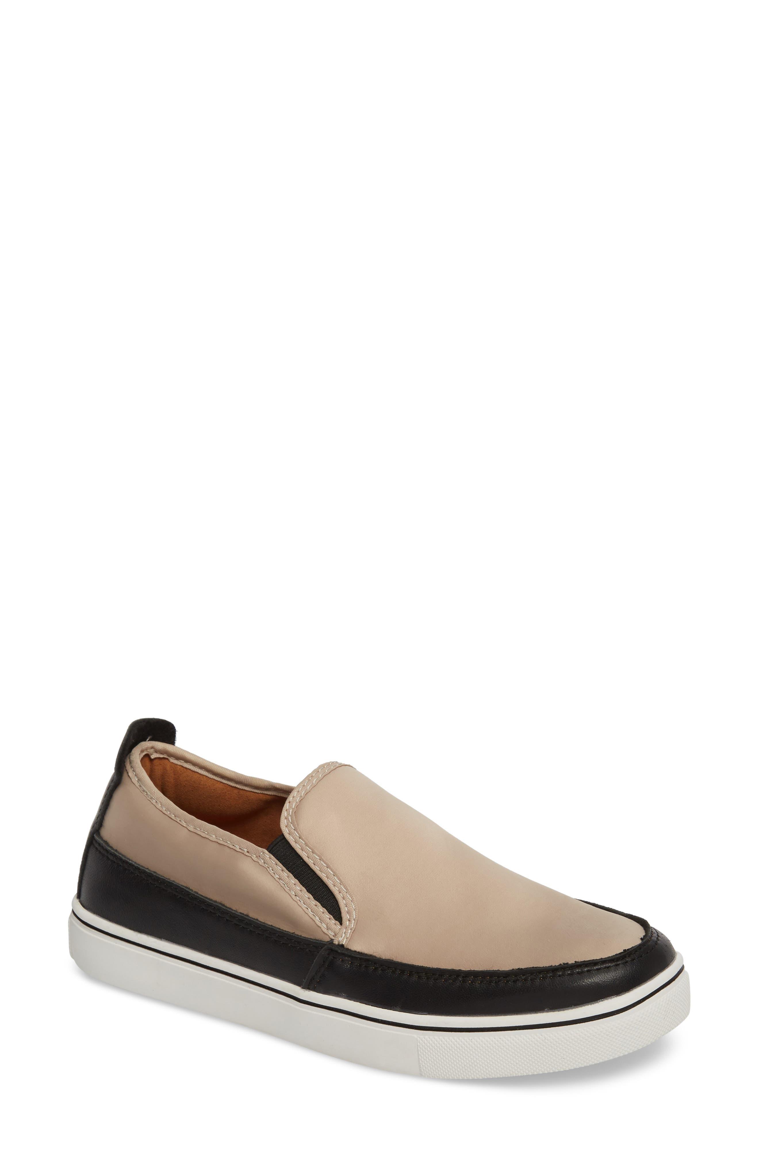 Bernie Mev. Double Gore Sneaker, Beige