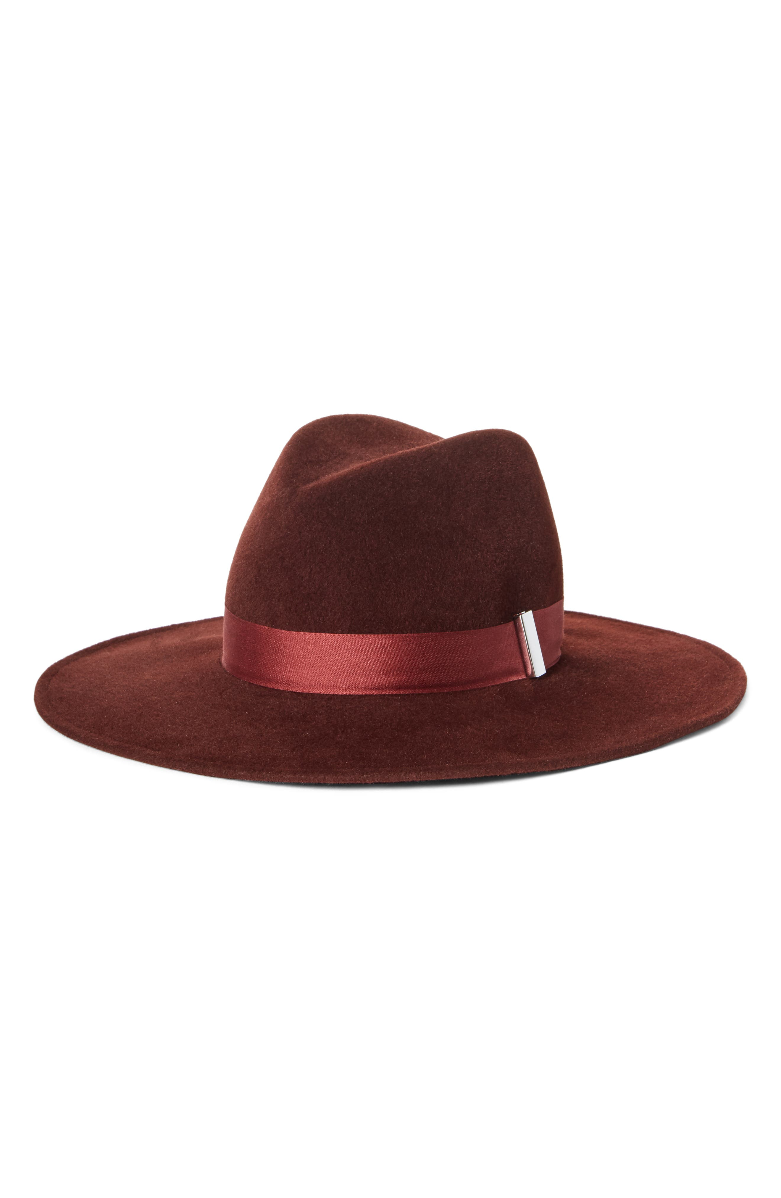 Jeanne Velour Hat