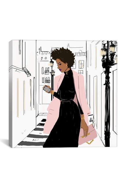 Image of iCanvas Pink Monday by Nicholle Kobi