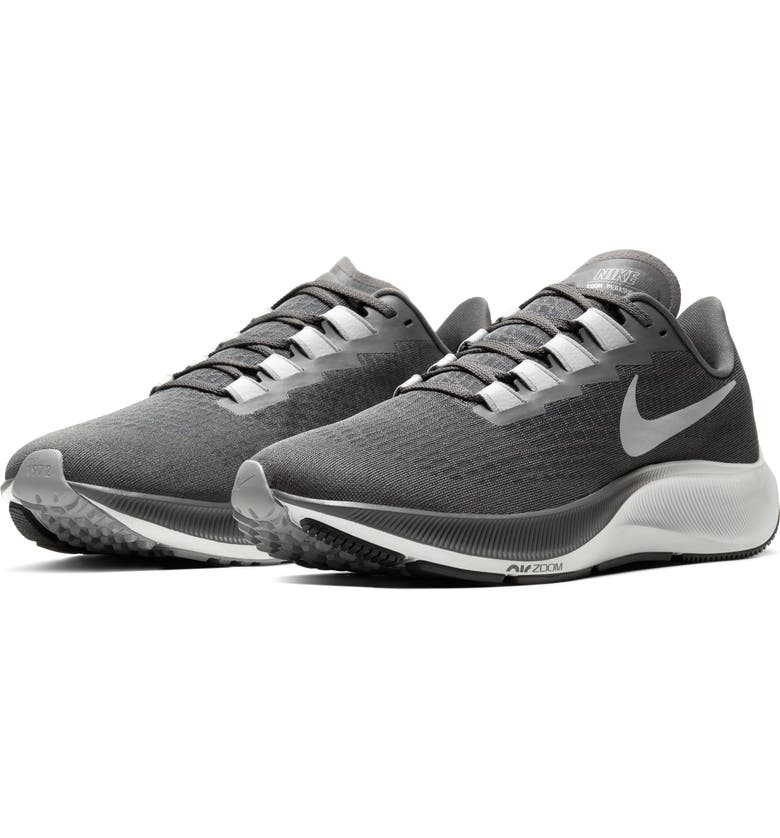 NIKE Air Zoom Pegasus 37 Running Shoe, Main, color, IRON GREY/ LIGHT SKY GREY