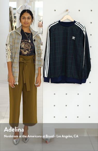 Tartan Crewneck Sweatshirt, sales video thumbnail