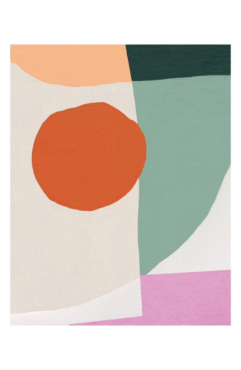 MOGLEA Sunday Art Print, Main, color, SUNDAY