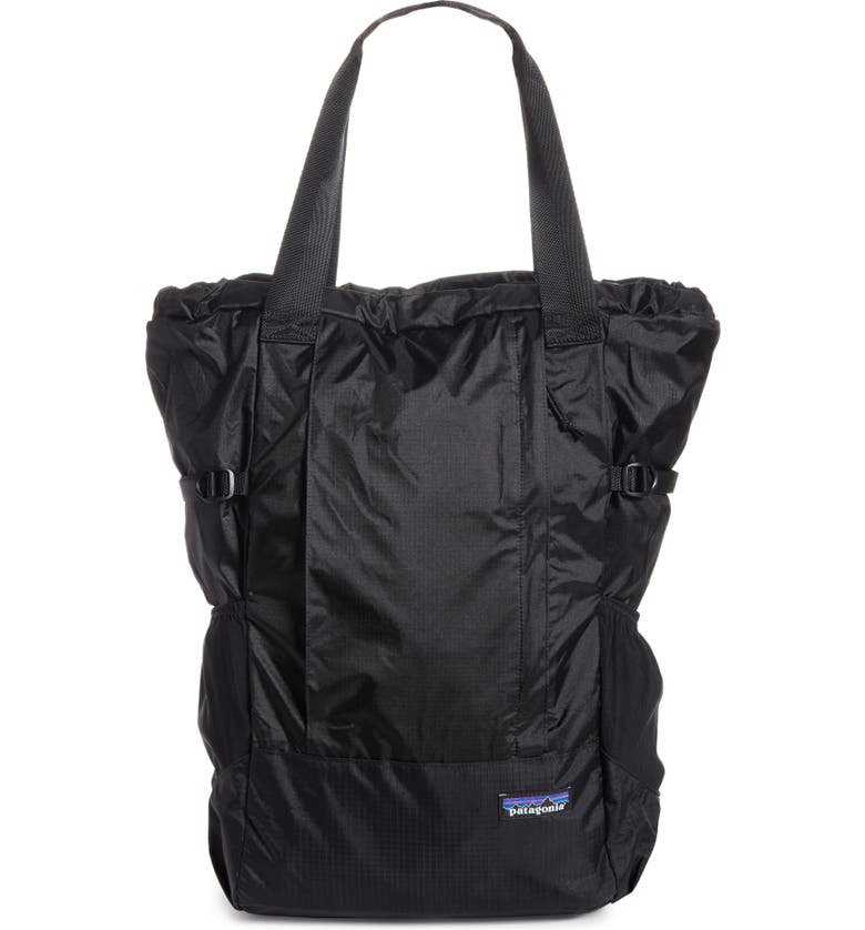 PATAGONIA Lightweight Travel Tote Pack, Main, color, BLACK
