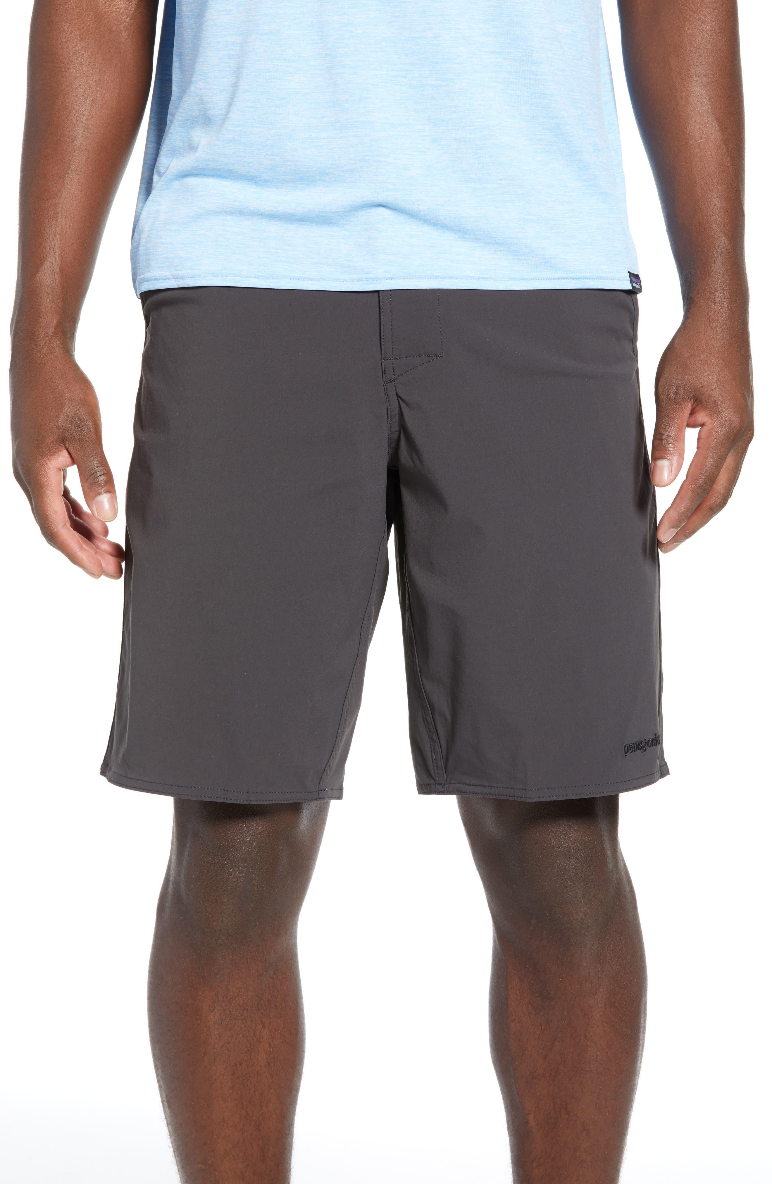 Patagonia Stretch Wavefarer Walking Shorts, Black