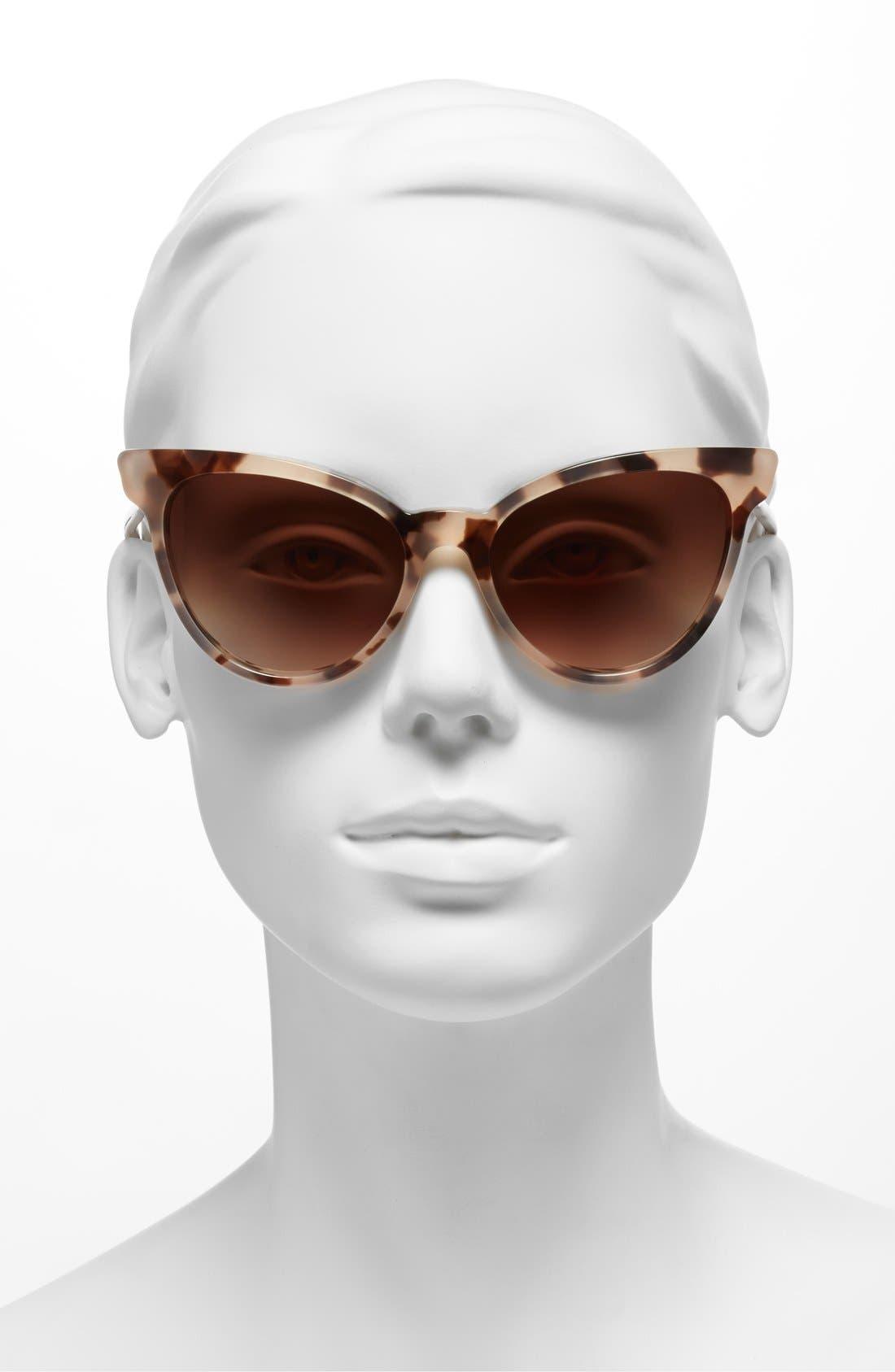,                             'La Femme' 55mm Sunglasses,                             Alternate thumbnail 13, color,                             201