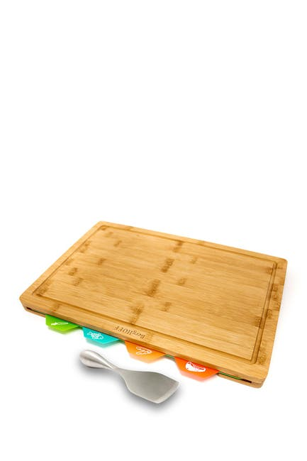 Image of BergHOFF Aaron Probyn 6-Piece Chopping Board & Cheese Knife Set