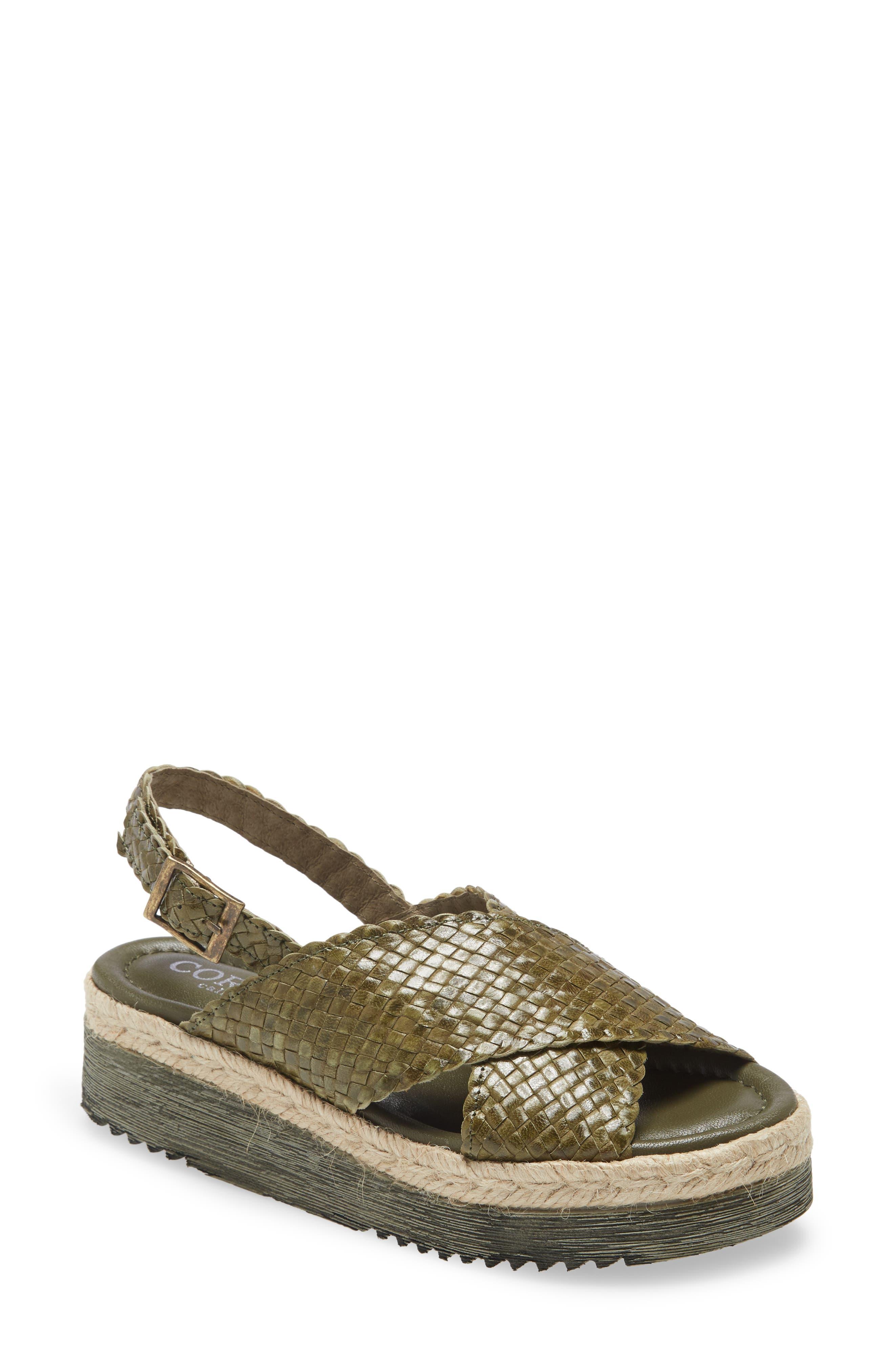 Sindee Woven Platform Sandal