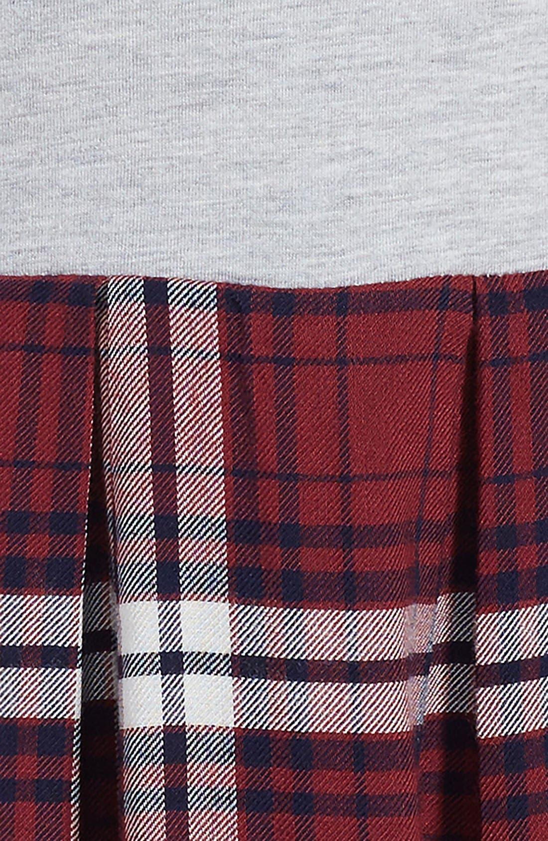 ,                             Pleated Knit Dress,                             Alternate thumbnail 2, color,                             050