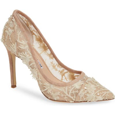Charles David Chaser Embellished Pump, Brown