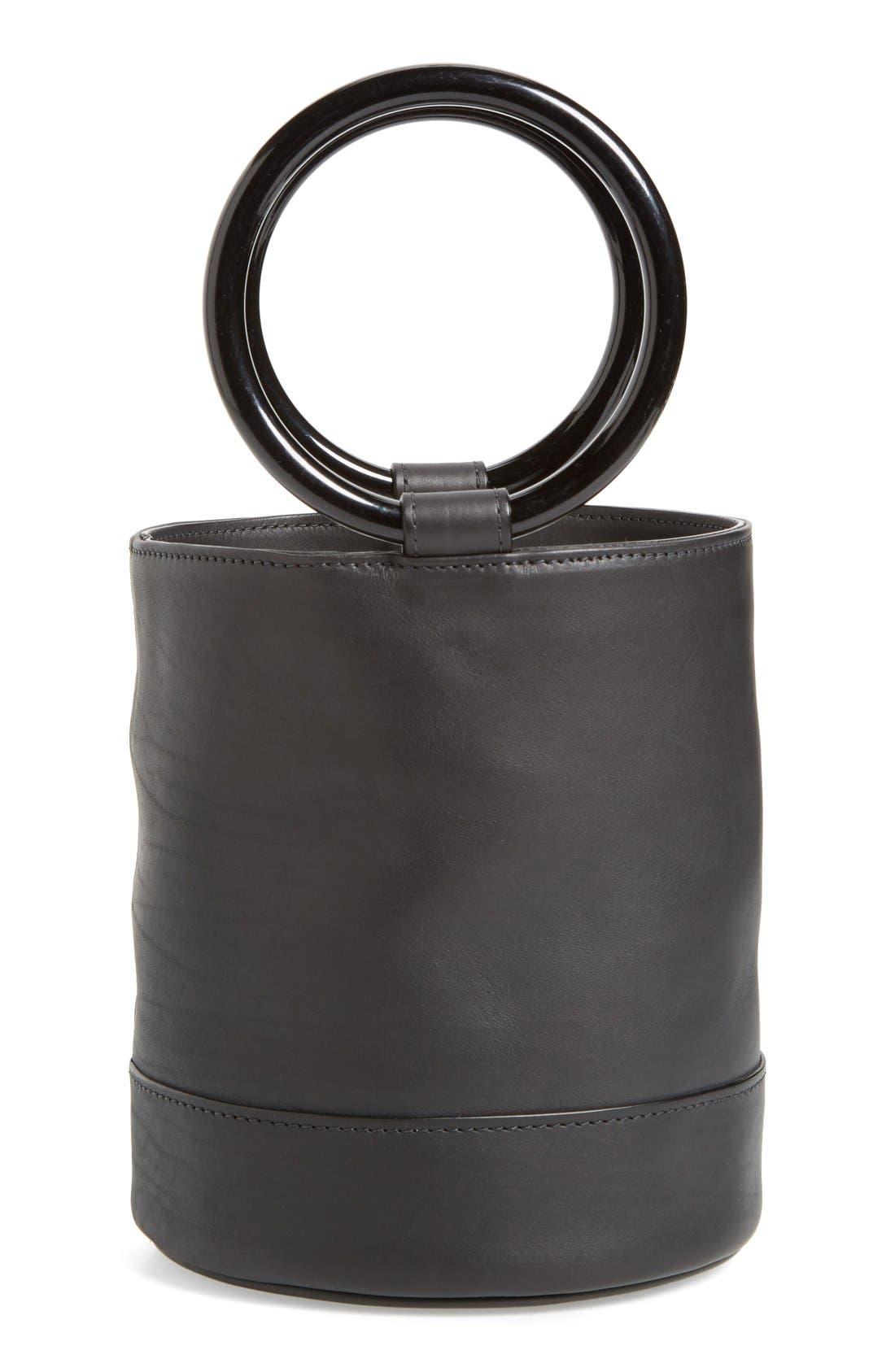 ,                             Bonsai 20 Crossbody Bucket Bag,                             Main thumbnail 1, color,                             001
