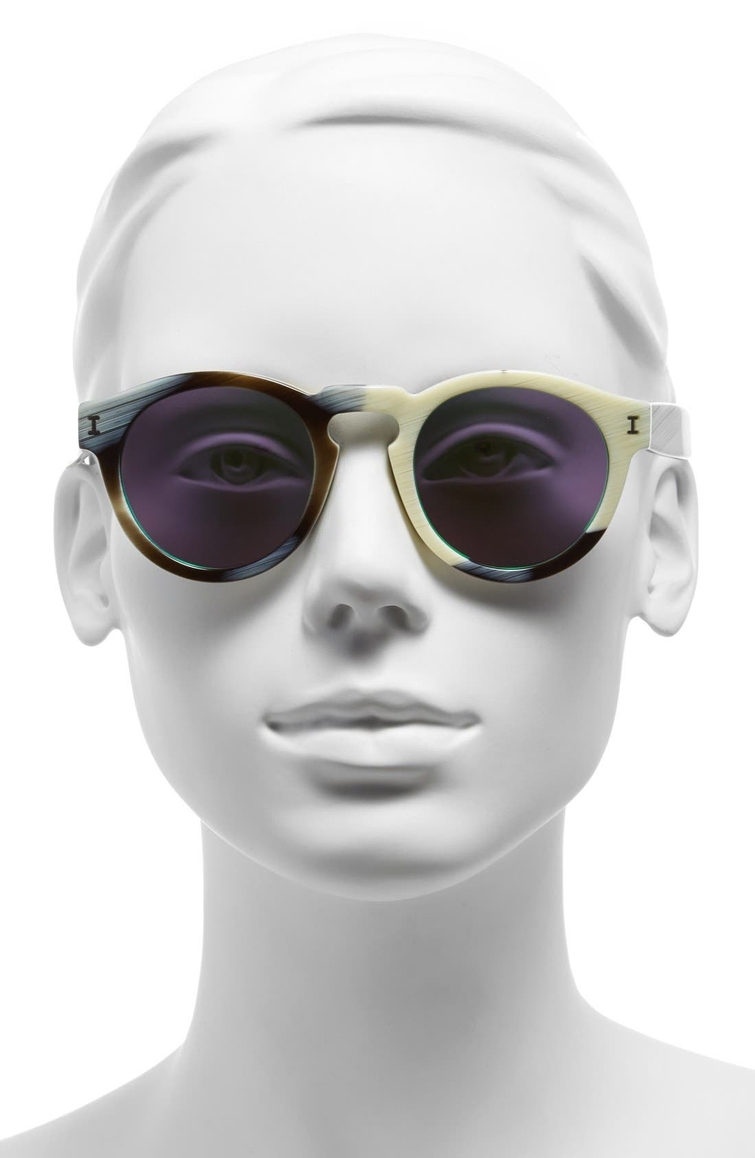 ,                             'Leonard' 47mm Sunglasses,                             Alternate thumbnail 126, color,                             250