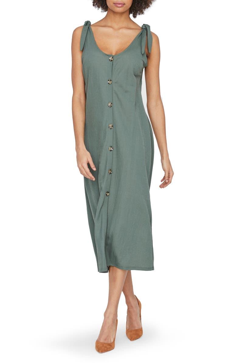 VERO MODA Petra Midi Dress, Main, color, LAUREL WREATH