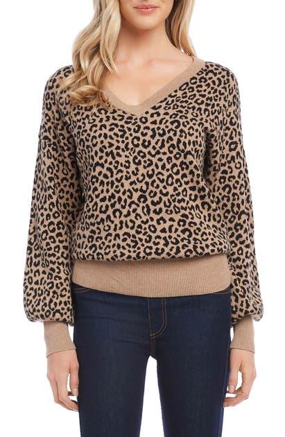 Karen Kane Sweaters BLOUSON SLEEVE SWEATER
