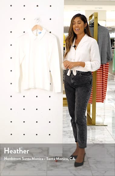 Embellished Collar Sweater, sales video thumbnail