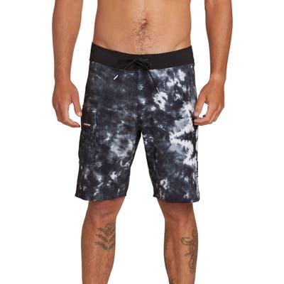 Volcom Peace Mod Board Shorts, Black