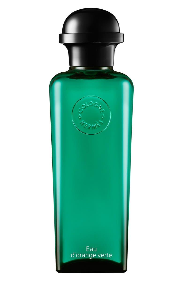 HERMÈS Eau d'orange verte - Eau de cologne, bottle with pump, Main, color, NO COLOR