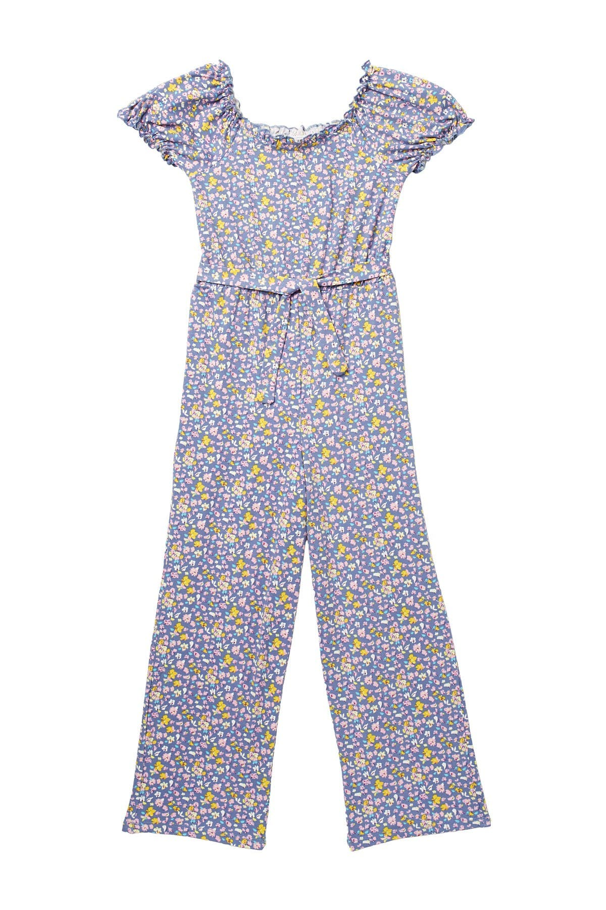 Image of Trixxi Brushed Ditsy Floral Print Jumpsuit