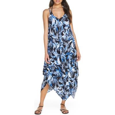 Tommy Bahama Indigo Garden Cover-Up Dress, Blue