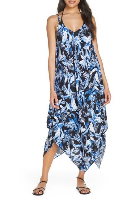 Image of Tommy Bahama Indigo Garden Cover-Up Dress