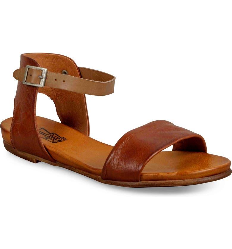 MIZ MOOZ 'Alanis' Sandal, Main, color, BRANDY LEATHER