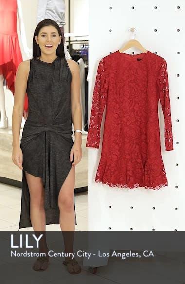 Lace Fit & Flare Dress, sales video thumbnail