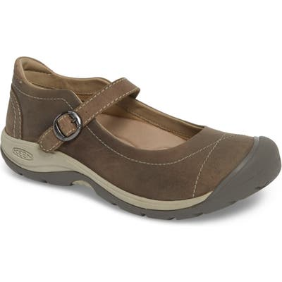 Keen Presidio Ii Mary Jane Flat, Grey