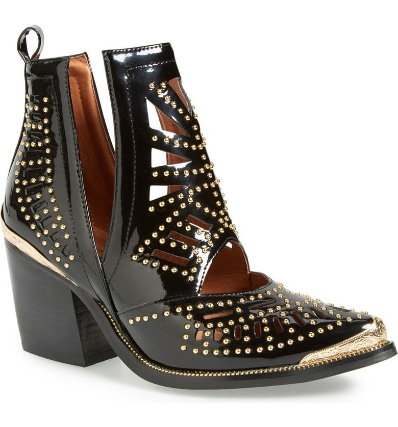 JEFFREY CAMPBELL 'Maceo' Pointy Toe Bootie, Main, color, 005