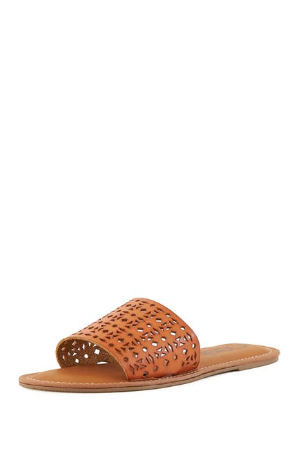 Image of NEST FOOTWEAR Perforated Strappy Sandal
