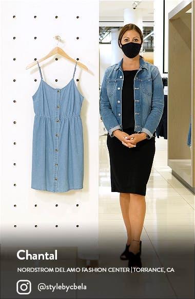 Flicka Denim Minidress, sales video thumbnail