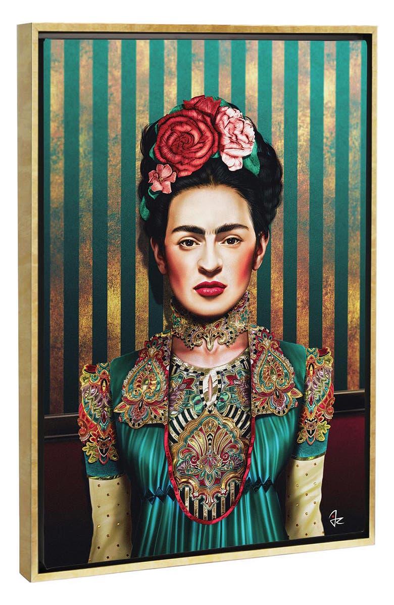 ICANVAS Frida by Giulio Rossi Giclée Print Canvas Art, Main, color, BEIGE