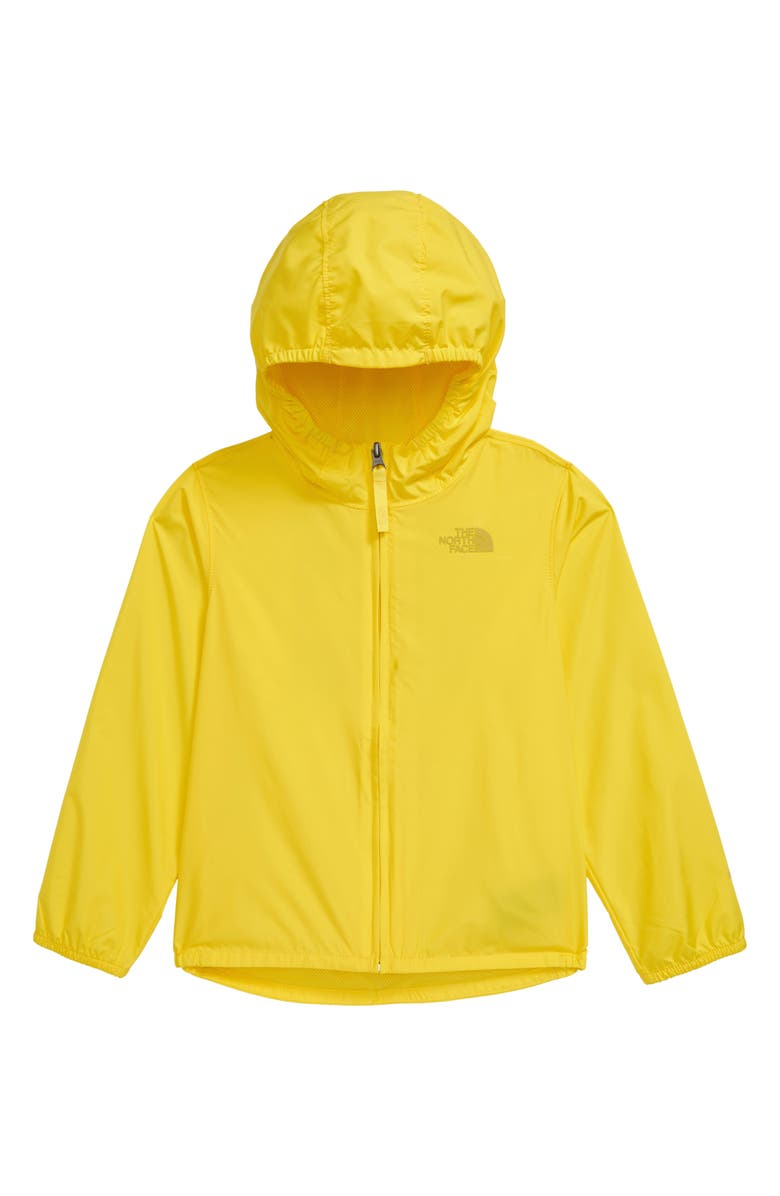 THE NORTH FACE Flurry WindWall<sup>®</sup> Water Repellent Hooded Windbreaker, Main, color, 730