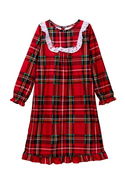 Image of Komar Holiday Plaid Granny Nightgown