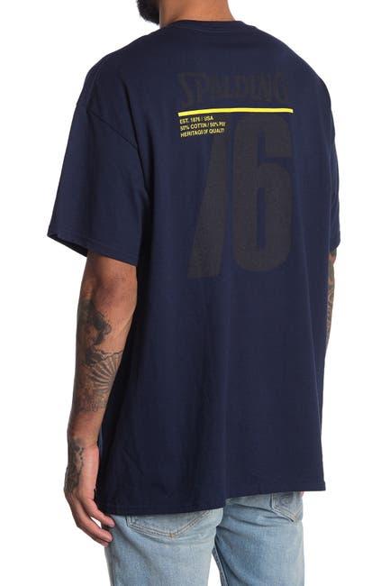 Image of Spalding Logo Pocket T-Shirt