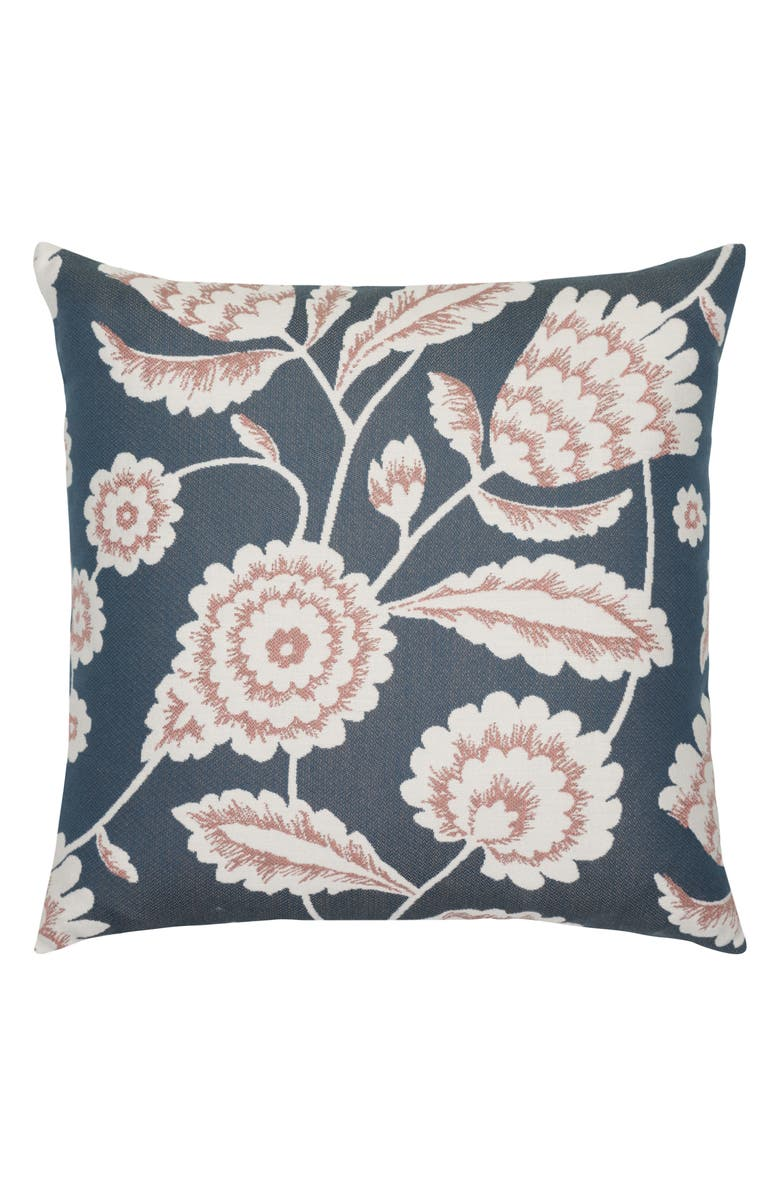 ELAINE SMITH Floral Vine Indoor/Outdoor Accent Pillow, Main, color, BLUE MULTI