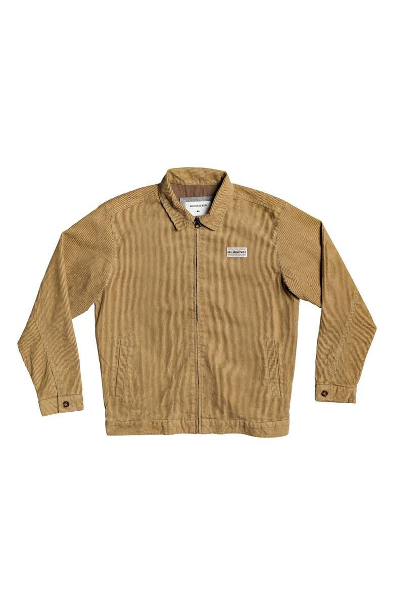 QUIKSILVER Yallingup Corduroy Jacket, Main, color, PLAGE