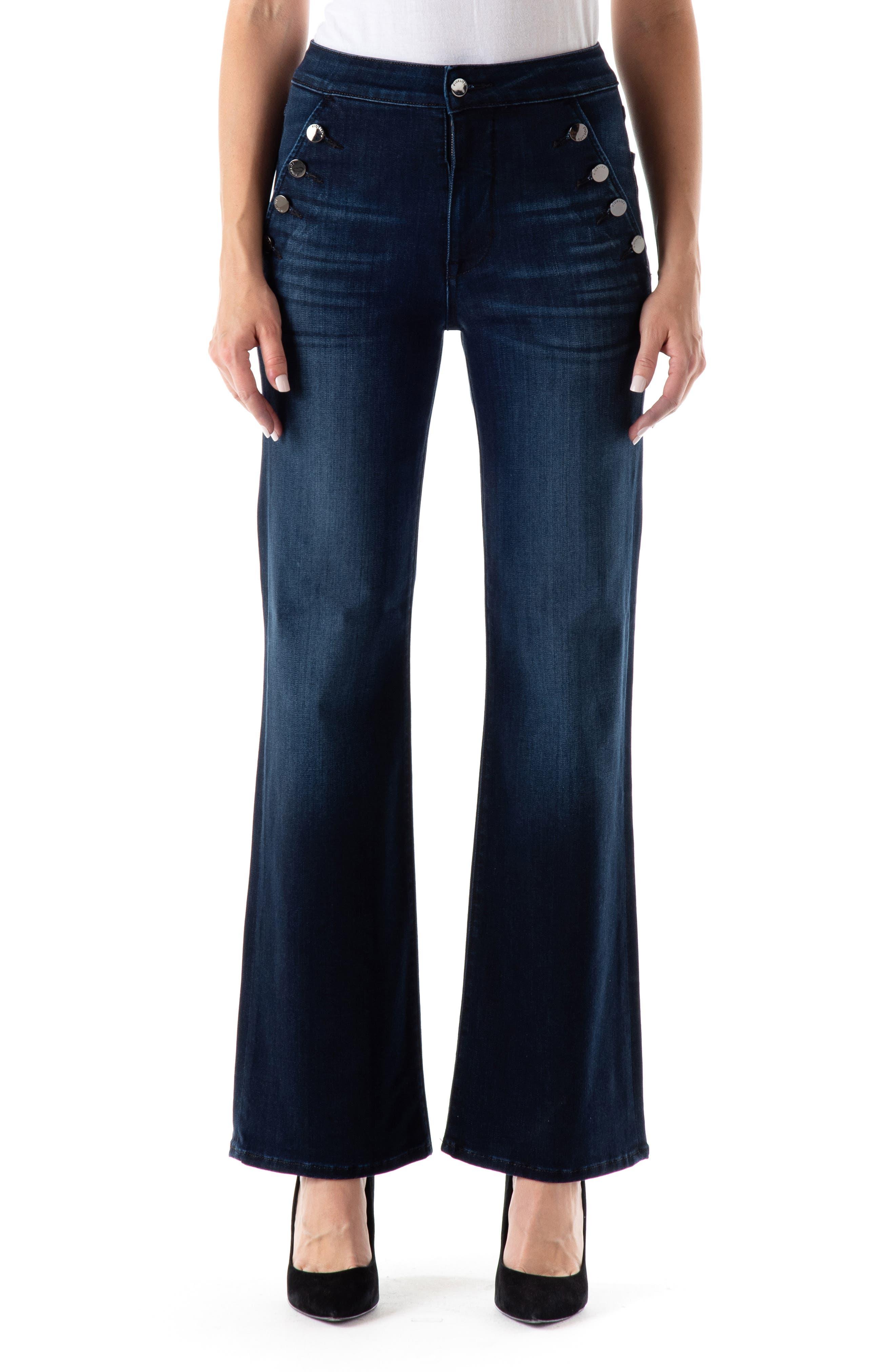 Katie High Waist Flare Leg Jeans