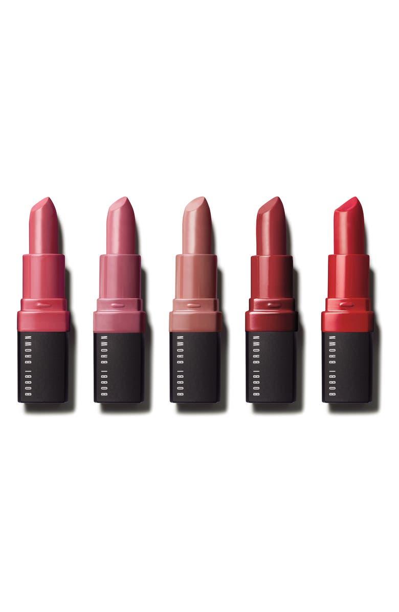 BOBBI BROWN Lip Crush Mini Crushed Lip Color Set, Main, color, 000