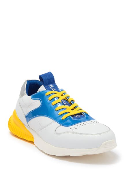 Image of Karl Lagerfeld Paris Rubber Two-Tone Sneaker