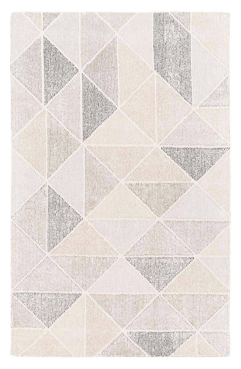 SURYA HOME Pyramid Wool Rug, Main, color, 250