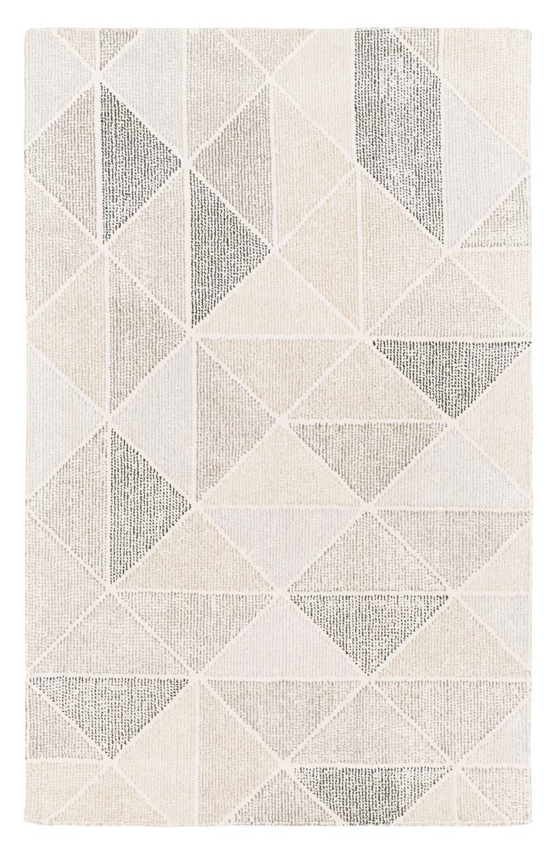 SURYA HOME Pyramid Wool Rug, Main, color, 250