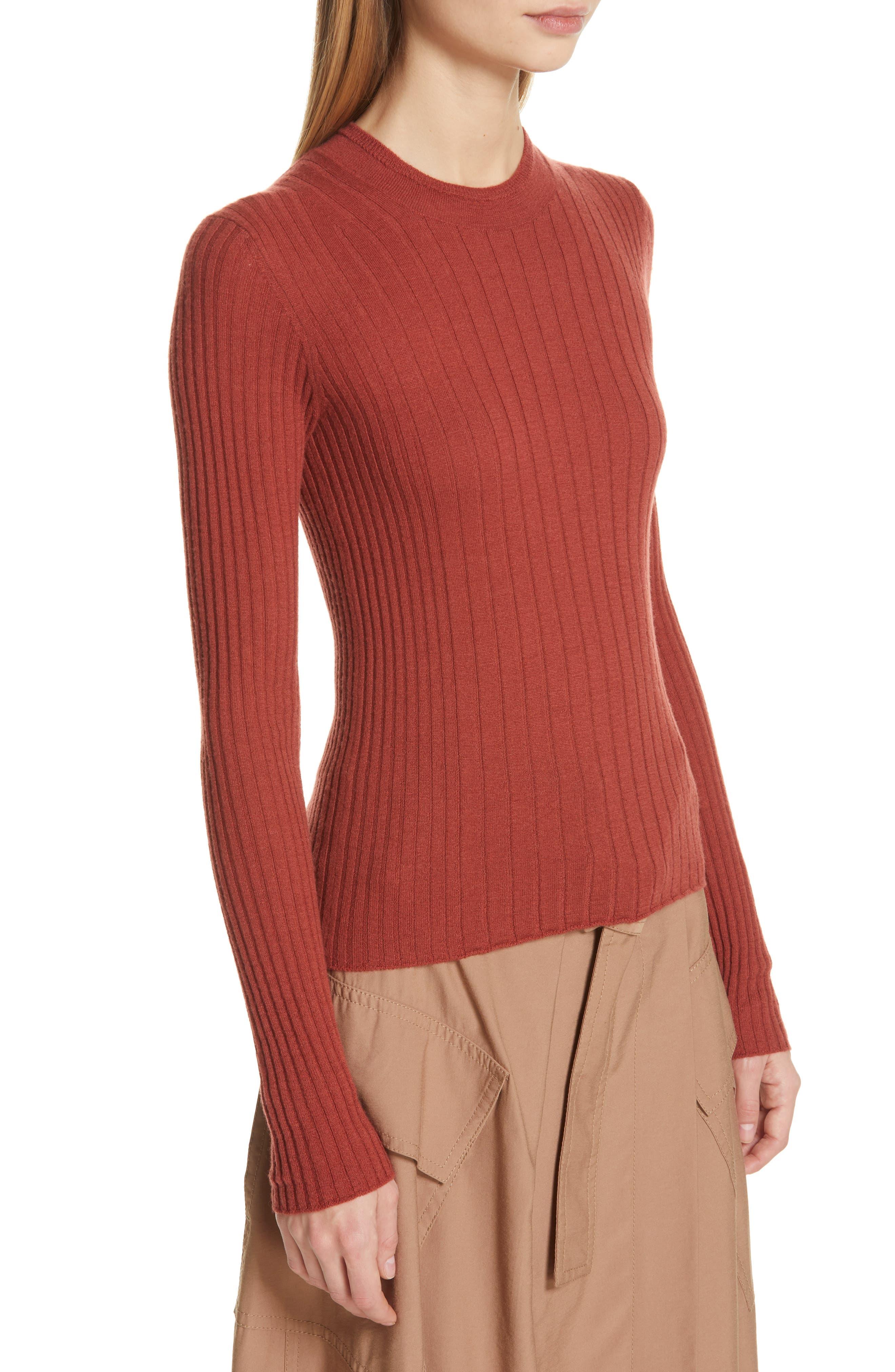,                             Mixed Rib Stitch Sweater,                             Alternate thumbnail 17, color,                             636