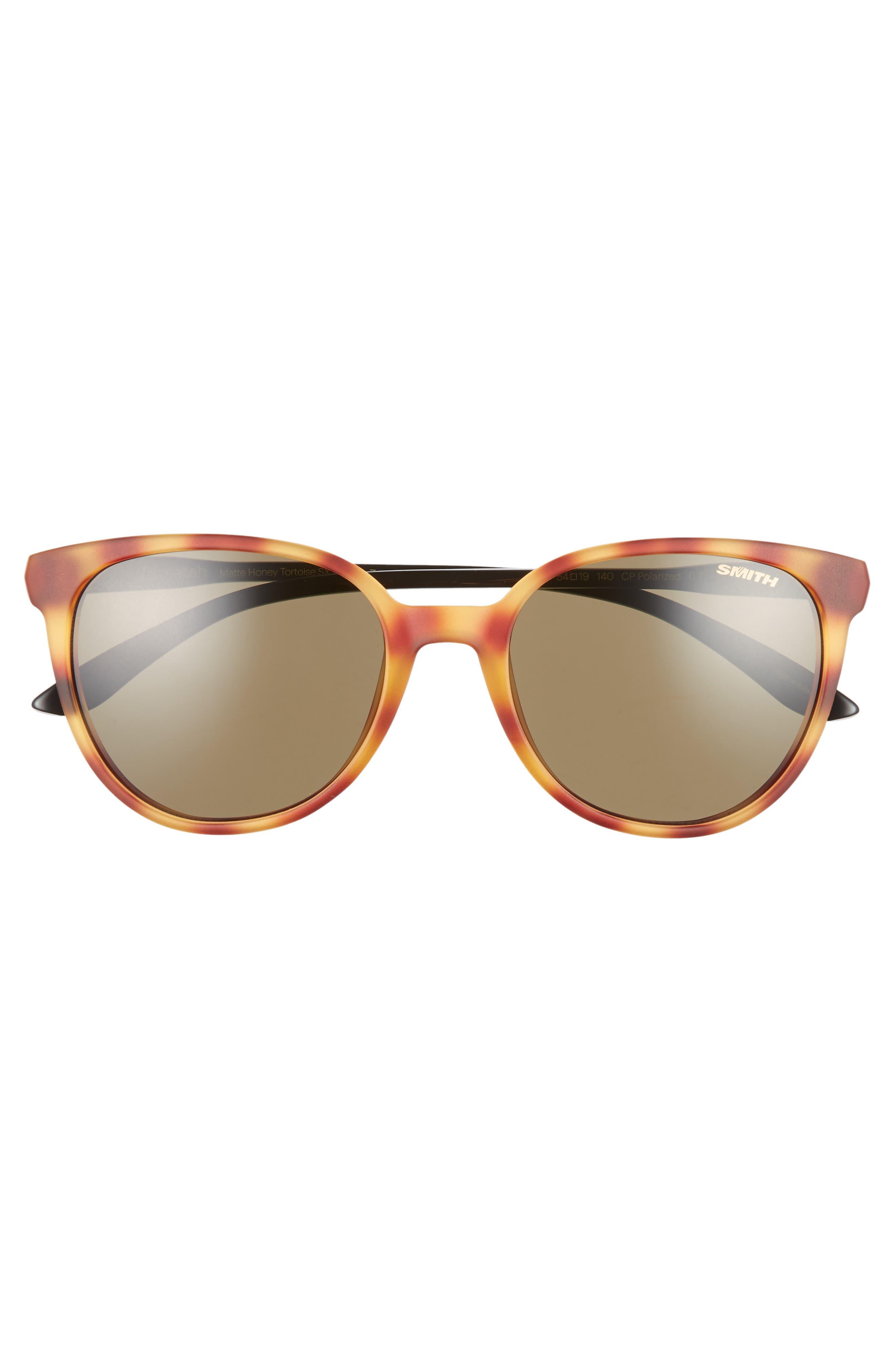 ,                             Cheetah 53mm ChromaPop<sup>™</sup> Polarized Sunglasses,                             Alternate thumbnail 3, color,                             HONEY TORTOISE/ GREY GREEN