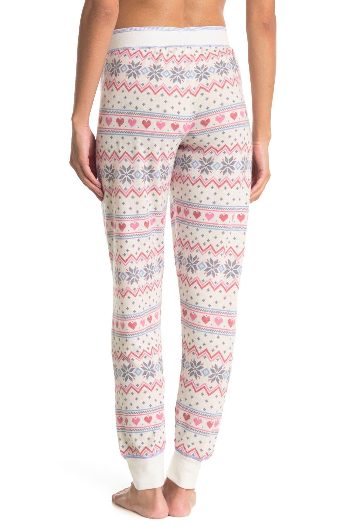 PJ SALVAGE Fair Isle Pajama Joggers