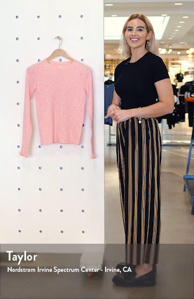 Ribbed Long Sleeve Sweater, sales video thumbnail