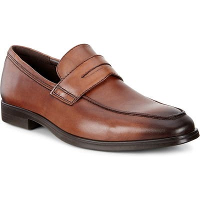 Ecco Melbourne Penny Loafer, Brown