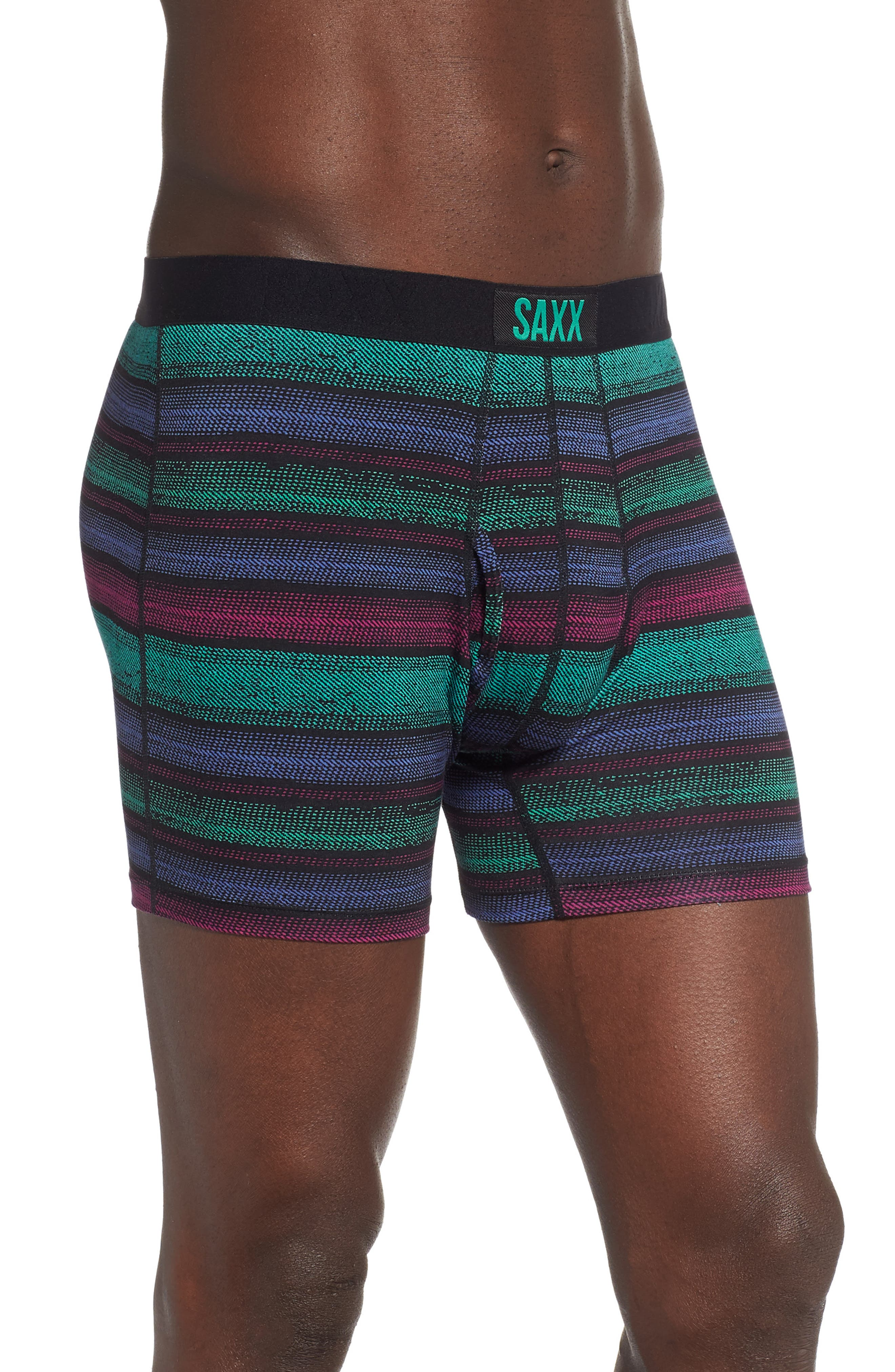 ,                             Ultra 2-Pack Stretch Boxer Briefs,                             Alternate thumbnail 4, color,                             CROSSGRAIN STRIPE