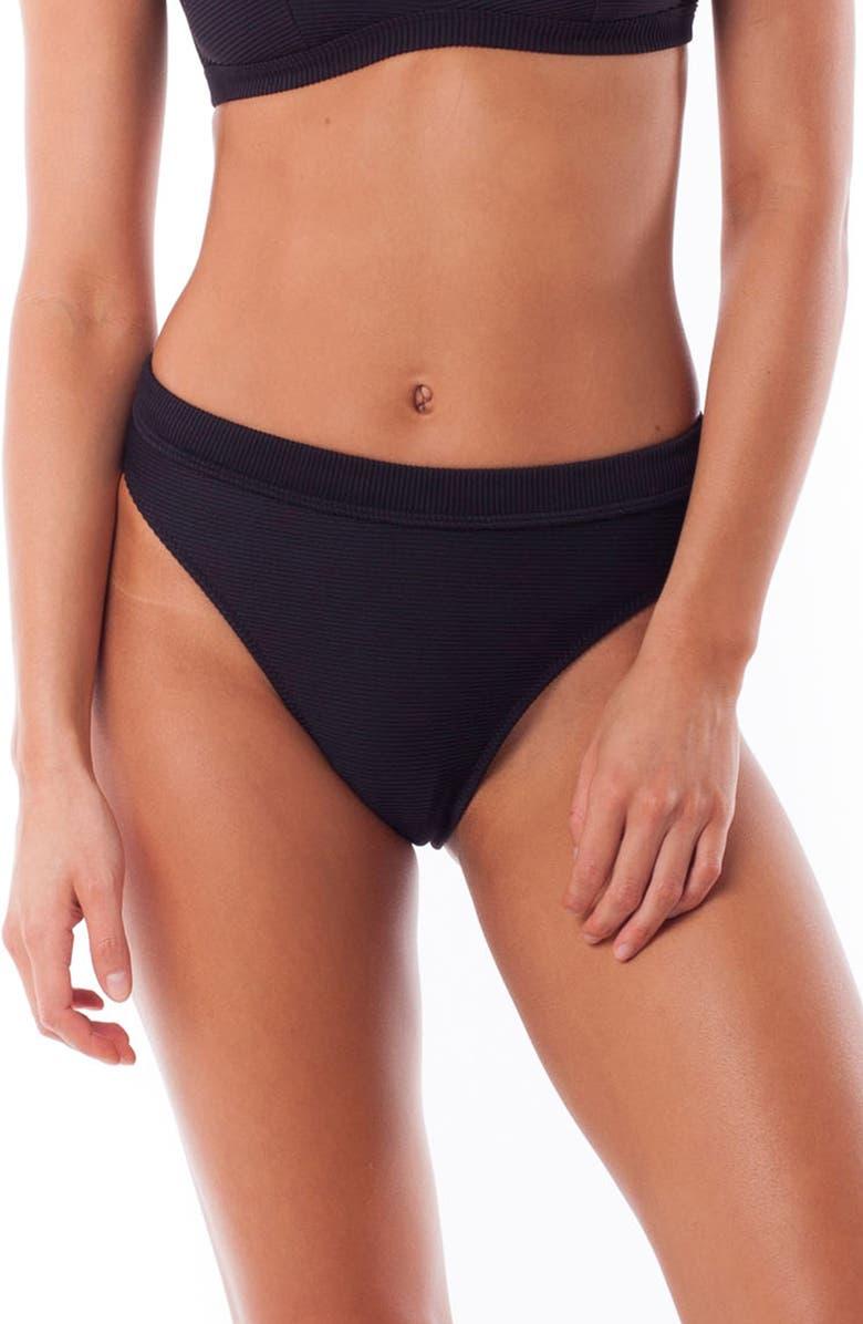 RHYTHM Palm Springs Xanadu Bikini Bottoms, Main, color, 001
