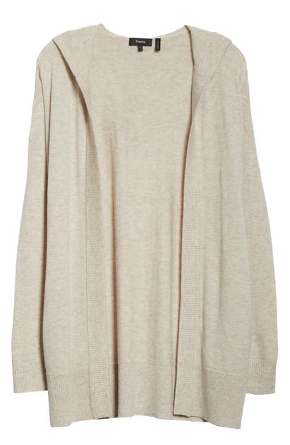Theory Tops ARIA HOODED CARDIGAN