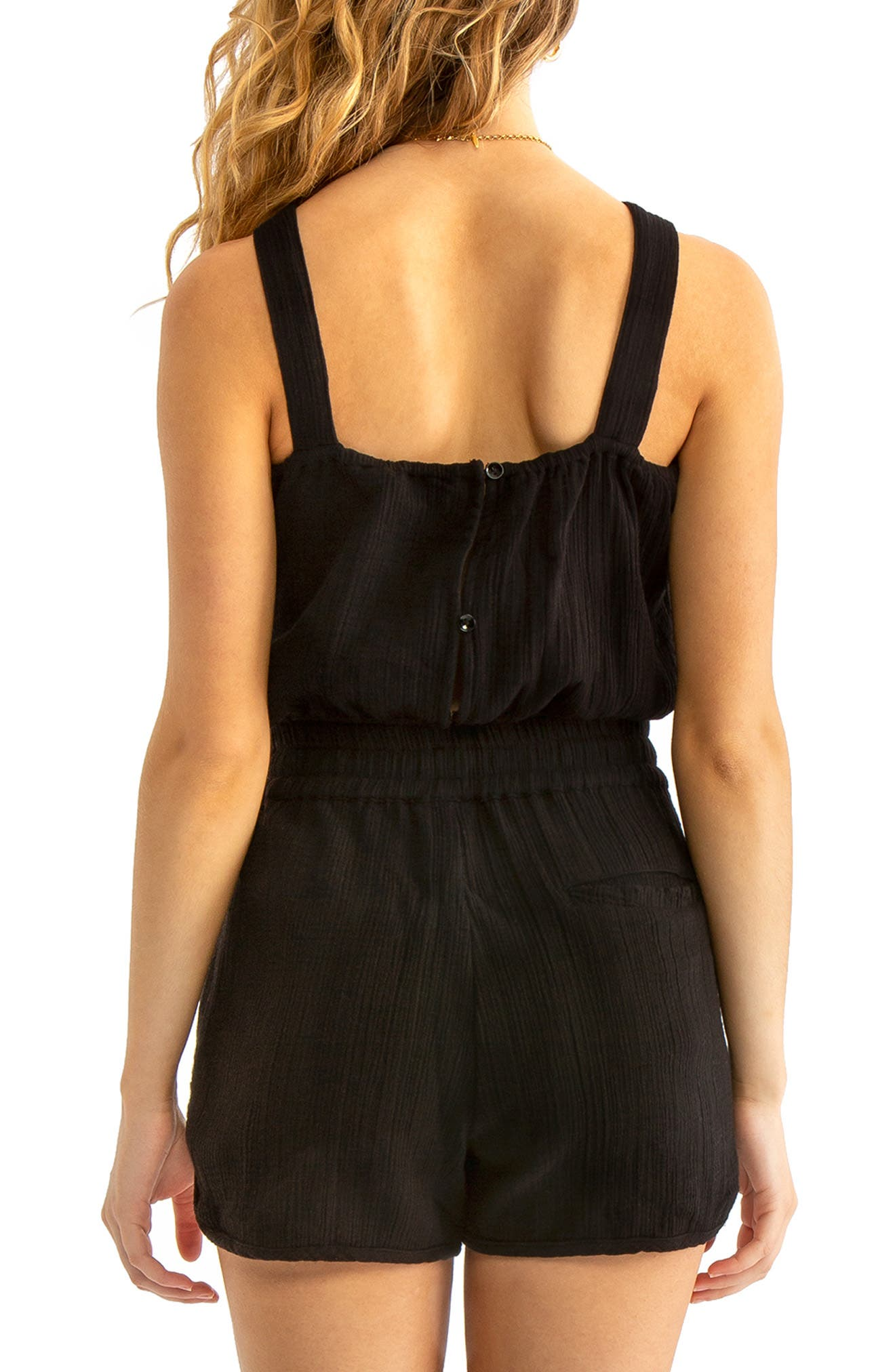 ,                             Ginny Cover-Up Tank,                             Alternate thumbnail 2, color,                             BLACK