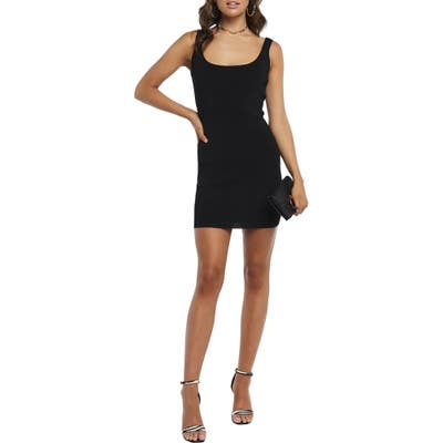 Bardot Manhattan Body-Con Minidress, Black